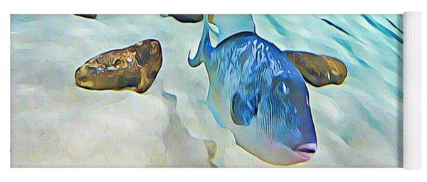Funny Fish Yoga Mat