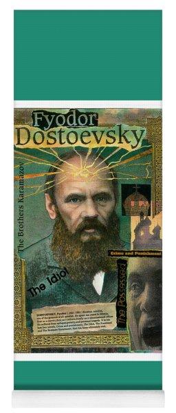 Fyodor Dostoevsky Yoga Mat
