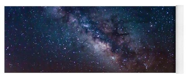 Galactic Core Yoga Mat
