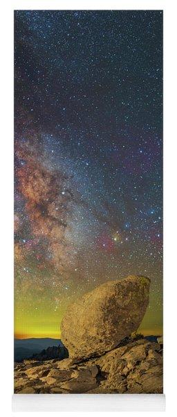 Galactic Erratic Yoga Mat
