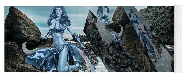 Galactic Mermaid Yoga Mat