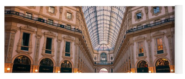 Galleria Milan Italy II Yoga Mat