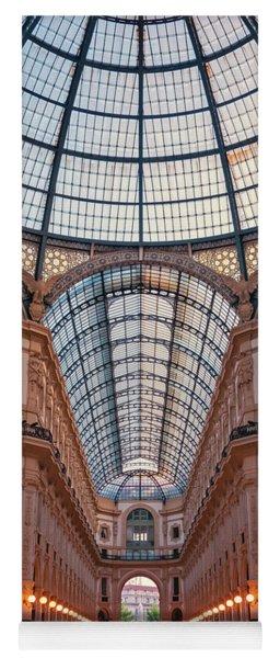 Galleria Milan Italy Yoga Mat