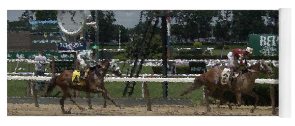 Galloping Out Painting Yoga Mat
