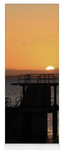 Galway Bay Sunrise Yoga Mat