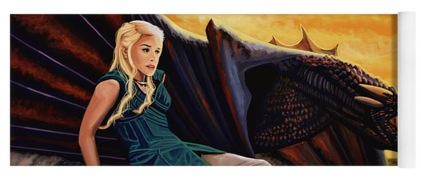 Game Of Thrones Painting Yoga Mat
