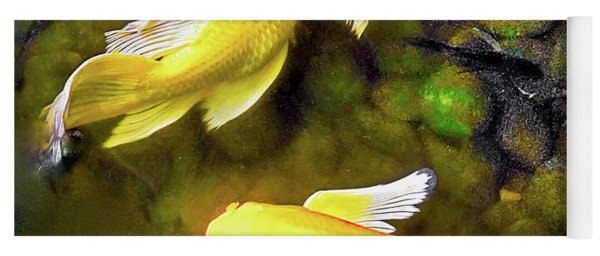 Garden Goldenfish Yoga Mat