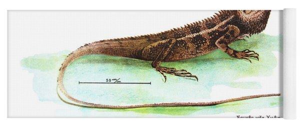 Garden Lizard Yoga Mat