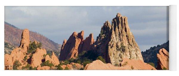 Garden Of The Gods Colorado Springs Yoga Mat