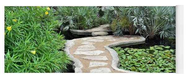 Garden Path  Yoga Mat