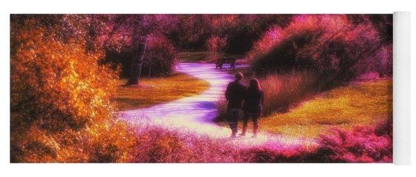 Garden Romance Yoga Mat
