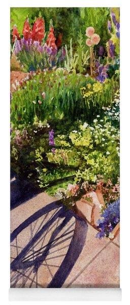 Garden Shadows Yoga Mat