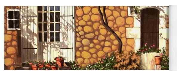 Garden Wall Yoga Mat