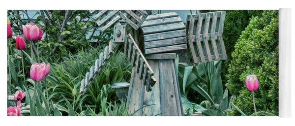 Garden Windmill Yoga Mat