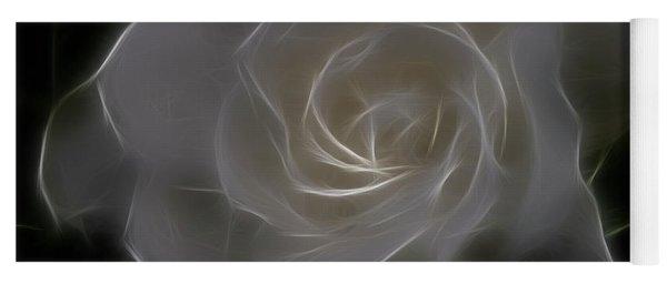 Gardenia Blossom Yoga Mat