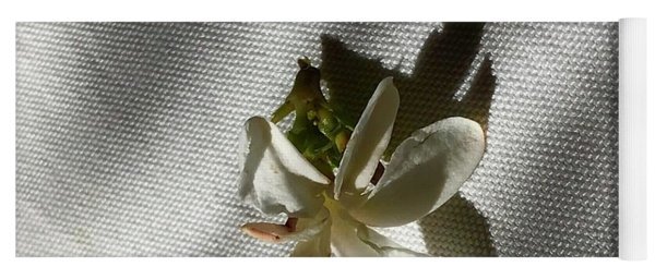 Gardenia On Tablecloths  Yoga Mat