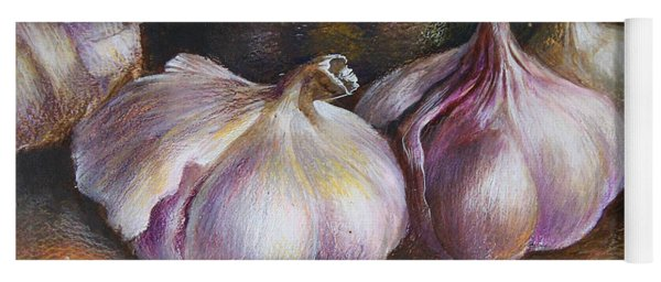 Garlic Painting Yoga Mat