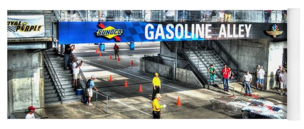 Gasoline Alley 2015 Yoga Mat