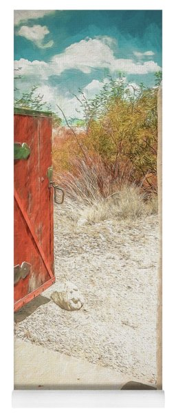 Gate To Oracle Yoga Mat