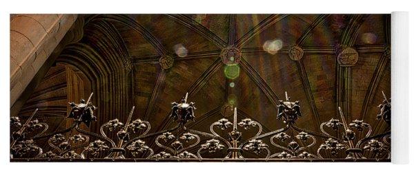 Gate To The Holy Spirit Chapel Yoga Mat