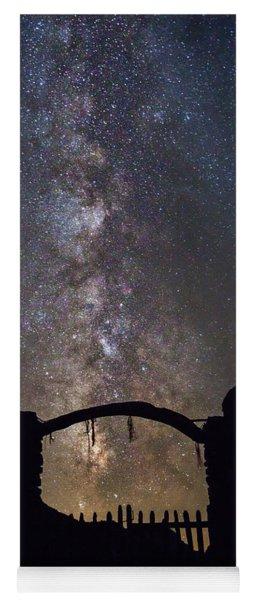 Gate Under The Stars Yoga Mat