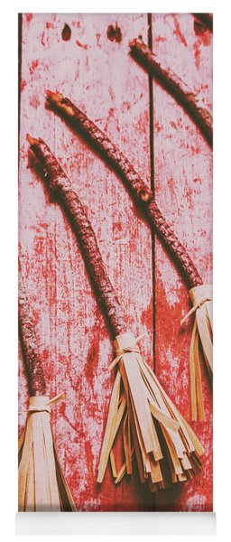 Gathering Of Evil Witches Still Life Yoga Mat