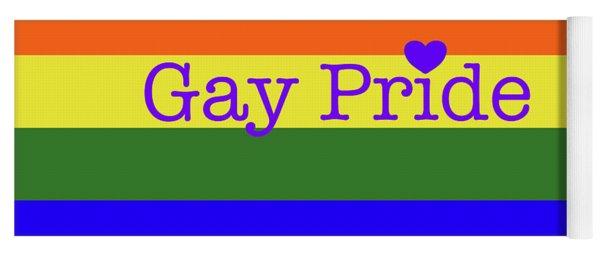 Gay Pride Love Yoga Mat