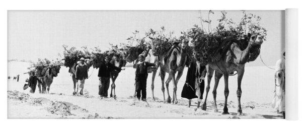 Gaza Strip, 1957 Yoga Mat