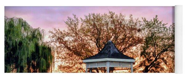 Gazebo Sunrise At Claytor Lake Yoga Mat