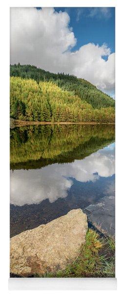 Geirionydd Lake Wales Yoga Mat