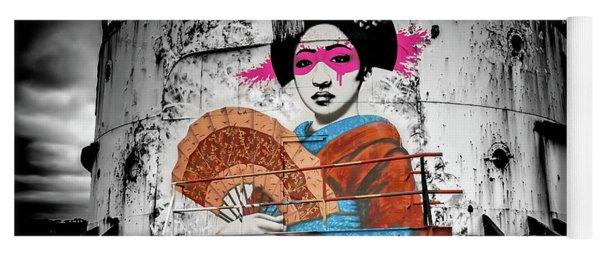 Geisha Graffiti Yoga Mat