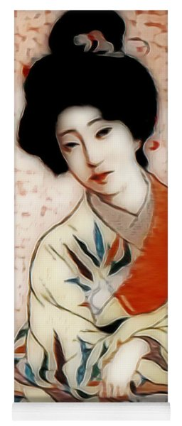 Geisha In Waiting  Yoga Mat
