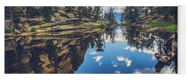 Gem Lake Reflections Yoga Mat