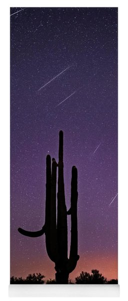 Geminid Meteor Shower #1, 2017 Yoga Mat