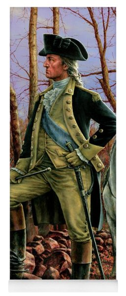 General George Washington Yoga Mat