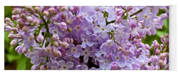 Gentle Purples Yoga Mat