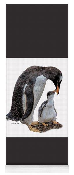 Gentoo Penguins Yoga Mat