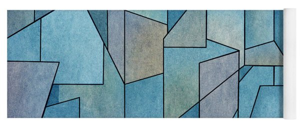 Geometric Abstraction IIi Yoga Mat