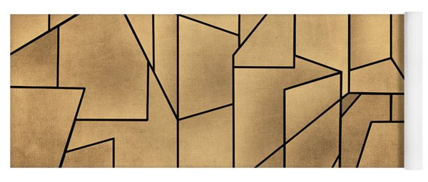 Geometric Abstraction IIi Toned Yoga Mat