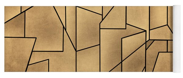Geometric Abstraction IIi Toned Yoga Mat