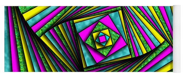 Geometry Art Yoga Mat