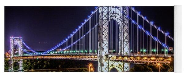 George Washington Bridge - Memorial Day 2013 Yoga Mat
