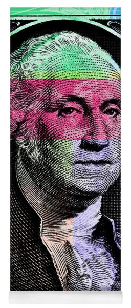 George Washington Pop Art Yoga Mat