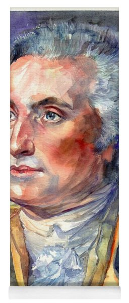 George Washington Portrait Yoga Mat