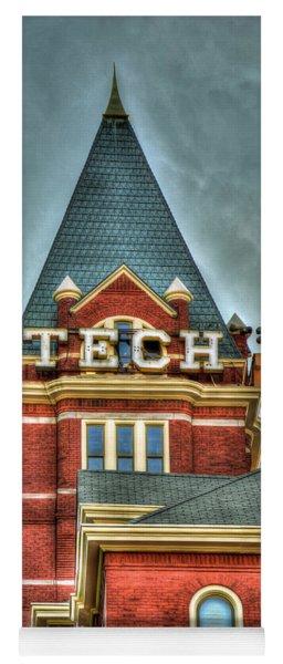 Georgia Tech Tower 8 Georgia Institute Of Technology Art Yoga Mat