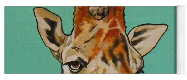 Gerald The Giraffe Yoga Mat