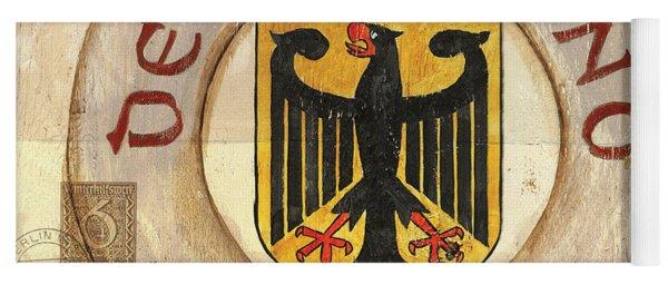 German Coat Of Arms Yoga Mat