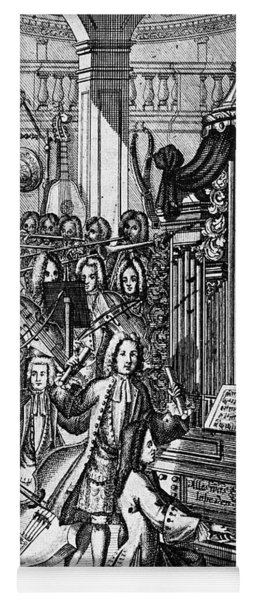 Germany: Orchestra, 1732 Yoga Mat