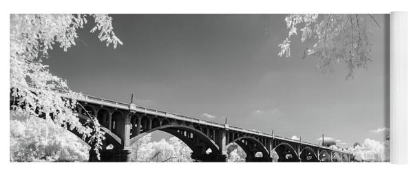 Gervais Street Bridge In Ir1 Yoga Mat