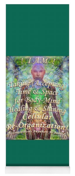 Getting Super Chart For Affirmation Visualization V3u Yoga Mat